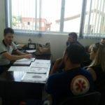 Visita de representantes do Samu São José