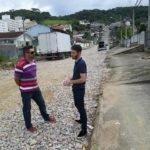 Visita rua João Paulo Gaspar – Ipiranga