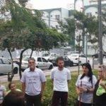 Manifestação sobre a USJ – Ato simbólico