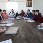 Reunião na Comissão de Obras da Câmara