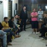 Reunião com a associação de Moradores do loteamento Araucária